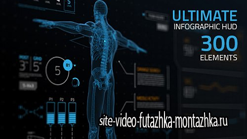 Ultimate Infographic HUD [300] - Project for After Effects (Videohive)