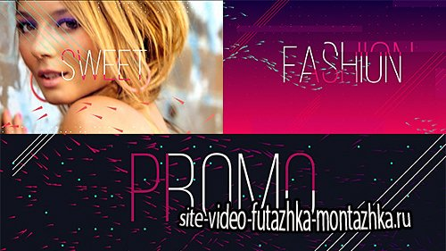 Fashion Sweet Promo - Project for After Effects (Videohive)