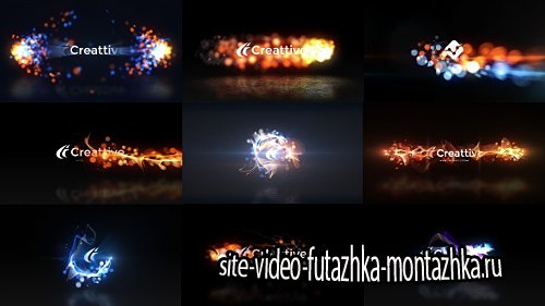 Quick Logo Sting Pack 07: Energetic Particles - Project for After Effects (Videohive)