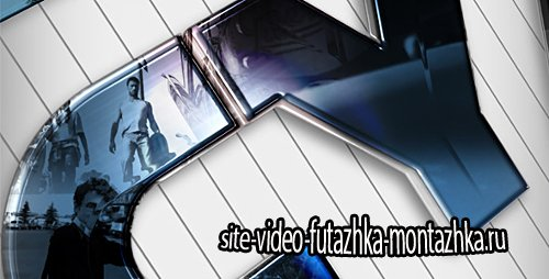 Glossy Video Reflections Logo or Title - Project for After Effects (Videohive)