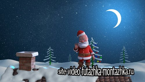 Merry Christmas Santa Claus - Project for After Effects