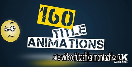 160 Title Animations - Project for After Effects (Videohive)