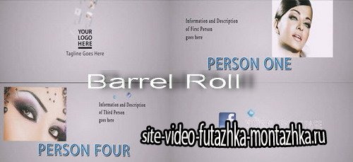 Barrel Roll - Project for After Effects