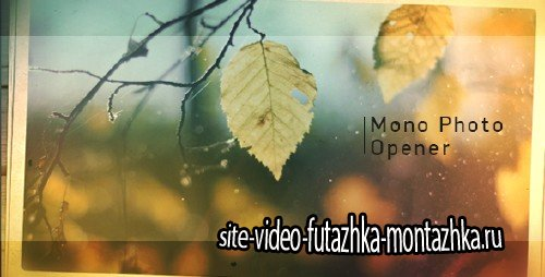 Mono Photo Opener - Project for After Effects (Videohive)