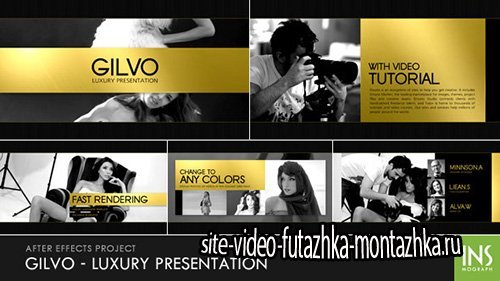 Gilvo - Luxury Presentation - Project for After Effects (Videohive)