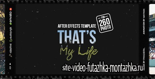 That's My Life - Project for After Effects (Videohive)