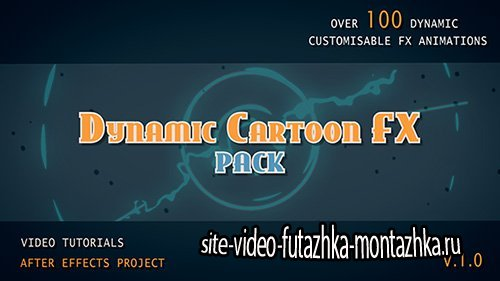 Dynamic Cartoon FX pack - Project for After Effects (Videohive)