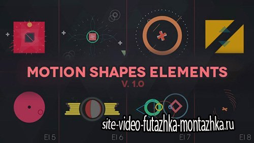 Motion Shapes - Animated Elements - Project for After Effects (Videohive)