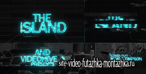 The ISLAND (Sci Fi) Cinematic Title Sequence - Project for After Effects (Videohive)