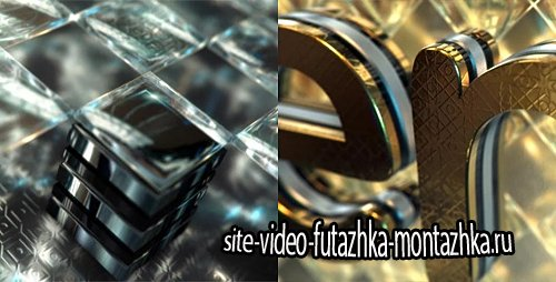 Gold & Black Crystallized Glass Logo Reveal - Project for After Effects (Videohive)