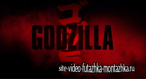 Godzilla Title - Project for After Effects