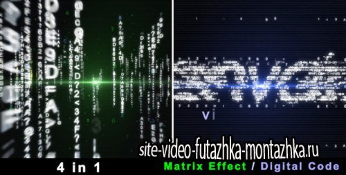 Particle Effect 4 (Digital Code and Matrix) - Project for After Effects (Videohive)