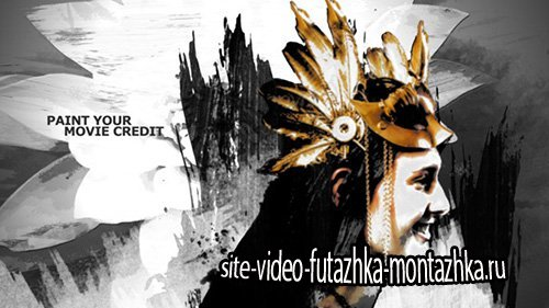 Paint Your Movie Credit - Project for After Effects (Videohive)