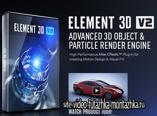 Video Copilot Element 3D v2.2.0.4 +spider (Cracked)