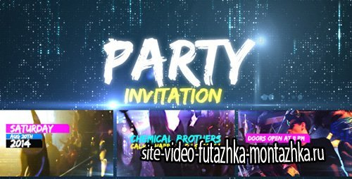 Party Invitation - Project for After Effects (Videohive)