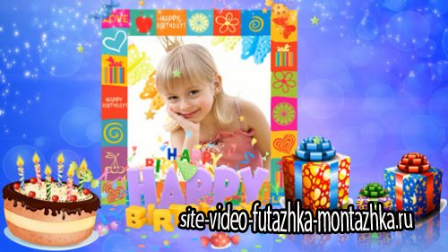 ProShow Producer проект - Happy birthday