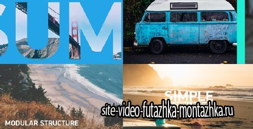Sliding Slideshow - Clean Lines - Project for After Effects (Videohive)