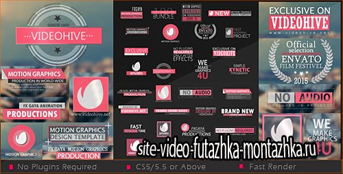 30 Title Bundle - Project for After Effects (Videohive)