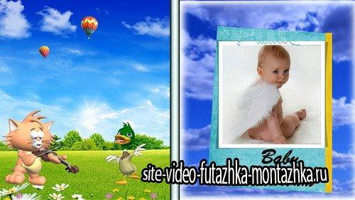 Baby photo album - Project for Proshow Producer