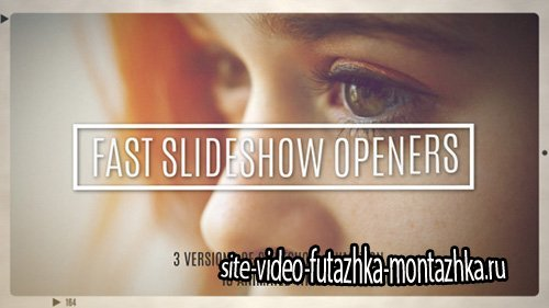 Fast Slideshow Openers + 10 Titles - Project for After Effects (Videohive)