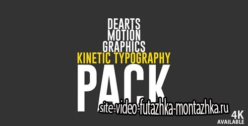 Kinetic Typo Pack - Project for After Effects (Videohive)