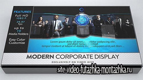 Modern Corporate Display - Project for After Effects (Videohive)