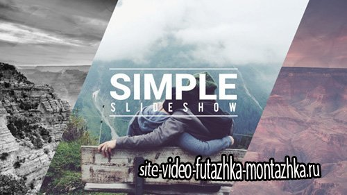 Simple Fast Slideshow- Project for After Effects (Videohive)