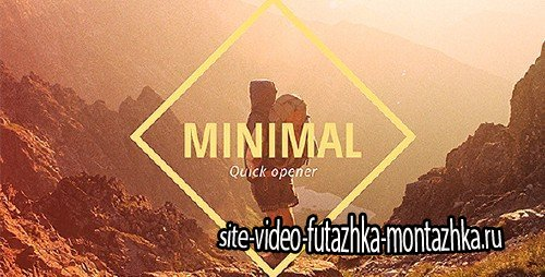 Minimal Opener Slideshow - Project for After Effects (Videohive)