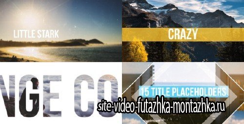 Fast Dynamic Summer Slideshow - Project for After Effects (Videohive)
