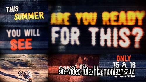 The Grunge Promo - Project for After Effects (Videohive)