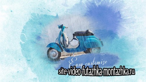 Watercolor Slideshow - Project for After Effects (Videohive)
