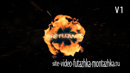 Fire Flower Logo - Project for After Effects (Videohive)
