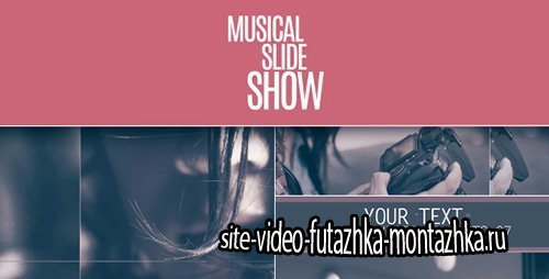 Musical Slideshow - Project for After Effects (Videohive)