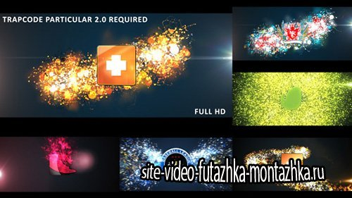 Glowing Particles Logo Reveal Pack : 01 - Project for After Effects (Videohive)