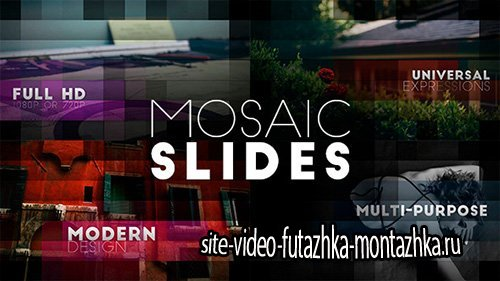 Mosaic Slides - Project for After Effects (Videohive)