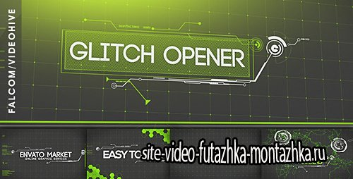Glitch Opener - Project for After Effects (Videohive)
