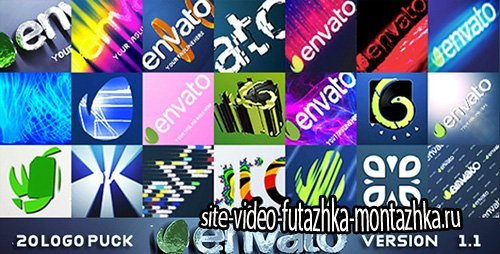 20 Logo Pack v1.1 - Project for After Effects (Videohive)