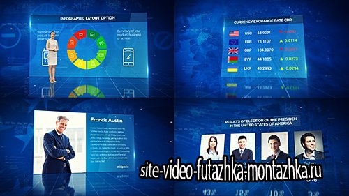 News Infographics Pack - Project for After Effects (Videohive)