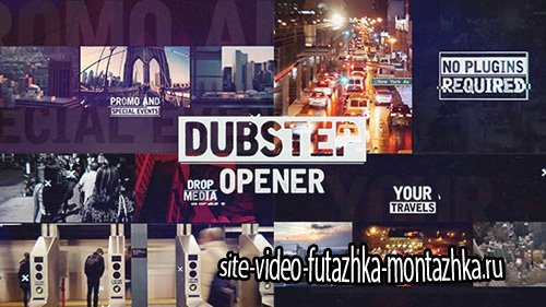 Dubstep Urban Opener - Project for After Effects (Videohive)