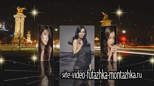 Beautiful brunette World - Project for Proshow Producer