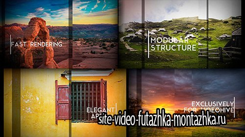 Sliding Slides - Project for After Effects (Videohive)