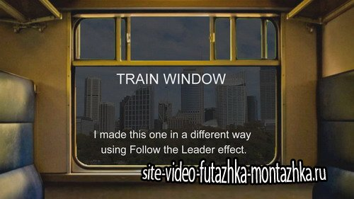 Train Window 2 - Project for Proshow Producer