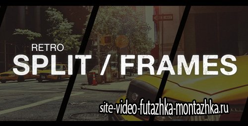 Retro Split Frames Slideshow - Project for After Effects (Videohive)