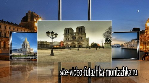 Sous Le Ciel De Paris - Project for Proshow Producer