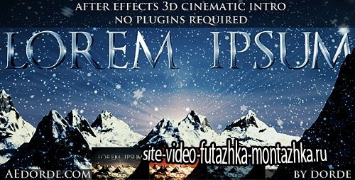 Cinematic Opener - Lorem Ipsum - Project for After Effects (Videohive)