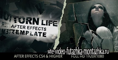 Torn Life - Project for After Effects (Videohive)