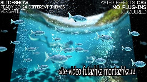 Curve Hd Slideshow - Project for After Effects (Videohive)