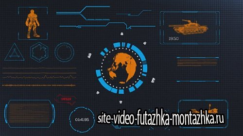 Motion Array - Modular HUD Elements After Effects Template