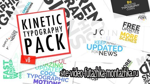 Kinetic Typographic Title Pack - Project for After Effects (Videohive)