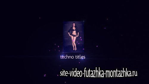 Techno Titles - Project for After Effects (Videohive)